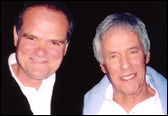 Larry with legendary composer Burt Bacharach.