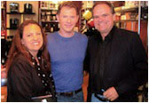 Bobby Flay & Masika at The Grove for Bobby's book signing.