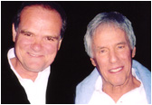 Larry with the legendary Burt Bacharach
