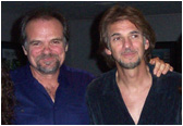 Larry with Kenny Loggins.