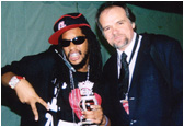 Recording artist/rapper Lil Jon spent some time with Larry backstage at this years American Music Awards.