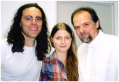 Director Tom Shadyac (Bruce Almighty, Ace Ventura, Liar, Liar) and Larry's niece Laura Wight who is an actress/singer.